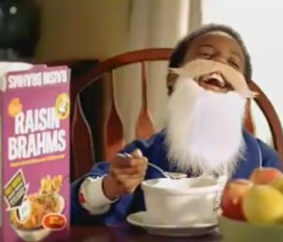 little bearded nigger laughing raisin bran.jpg