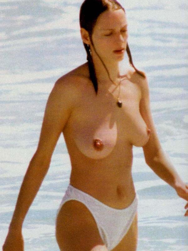uma thurman pussy on beach
