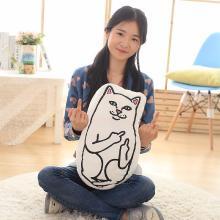 46cm-26cm-Middle-Finger-Cat-Funny-P.jpg